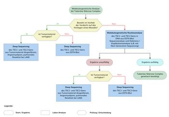 TSC Diagnostik Flussdiagramm