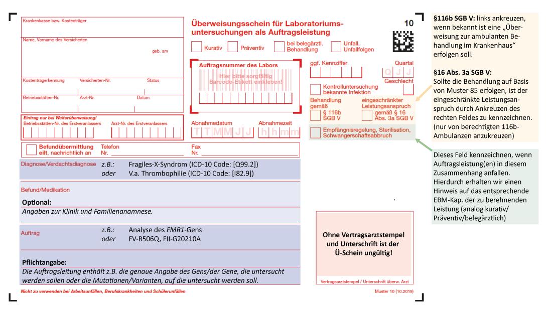 Formulare Dokumente Und Downloads Mvz Labor Limbach Dresden